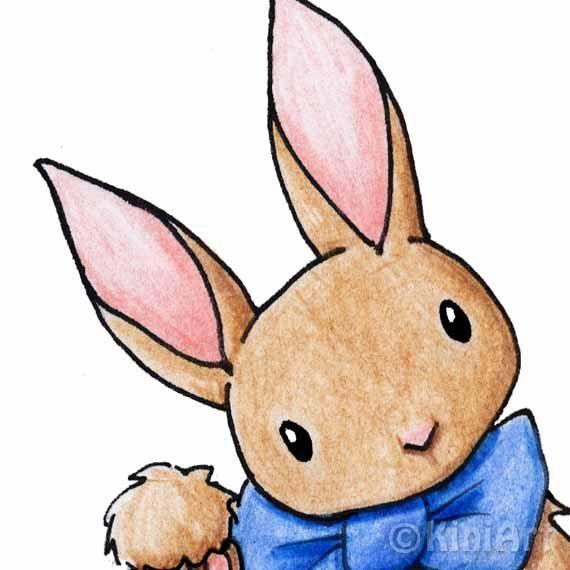Valentine Rabbit Clipart.