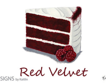 red velvet clipart #13