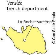 Vendee department Vector Clip Art Royalty Free. 5 Vendee.