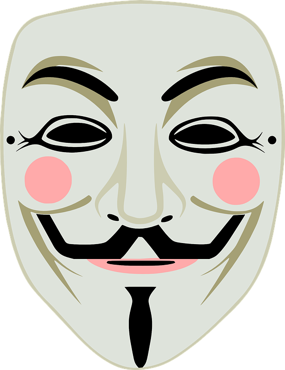 Free vector graphic: Fawkes, Fawkes Mask, Guy, Anonymous.