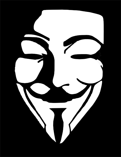 V For Vendetta Mask Vector Vendetta clipar...