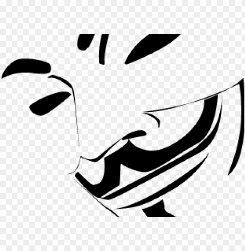 anonymous clipart vendetta mask.