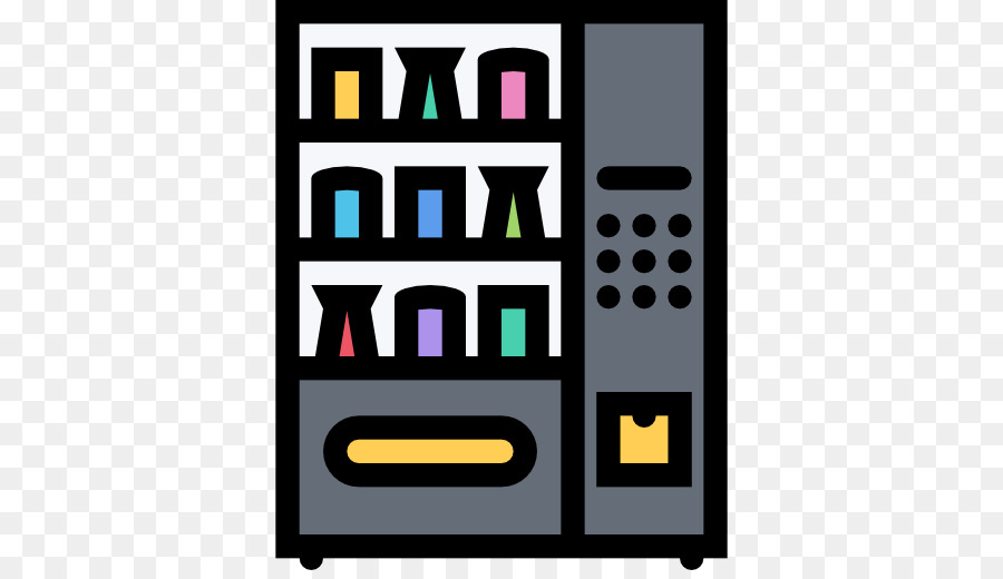 Vending Machines Text png download.