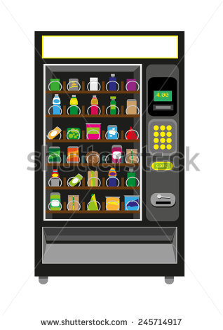 Vending Machine Stock Images, Royalty.