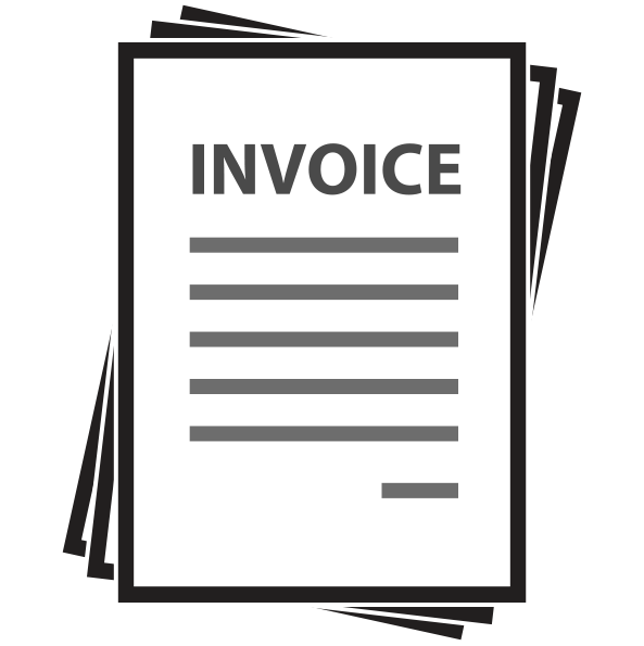 Invoice clipart Transparent pictures on F.