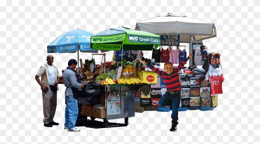 Street Vendor Png.