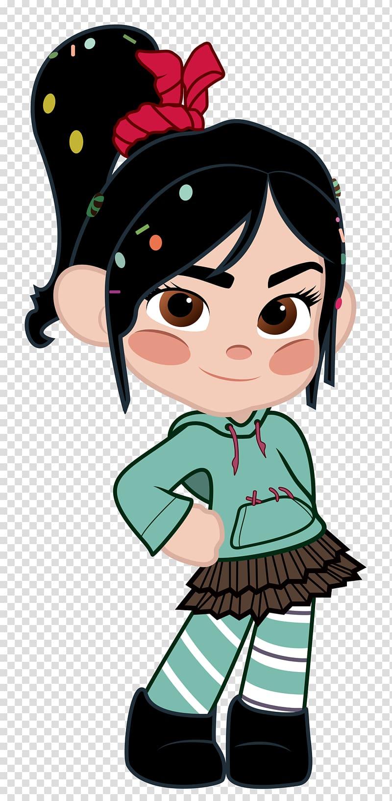 Vanellope von Schweetz Character Animation Disney Princess.