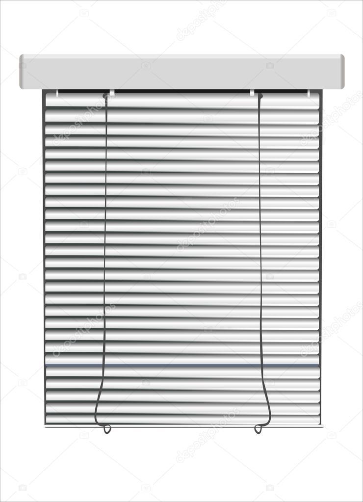 A venetian blinds vector illustration — Stock Vector © mitay20.