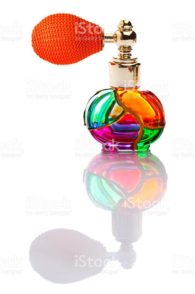 Venetian Glass Perfume stock photo 483376207.