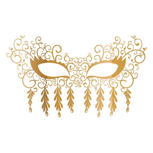 Masquerade mask icon.