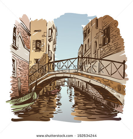 Italy Vector Venice Image Stock Photos, Royalty.