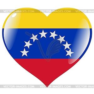 with flag of Venezuela.