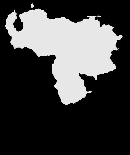 Venezuela Map Clipart.