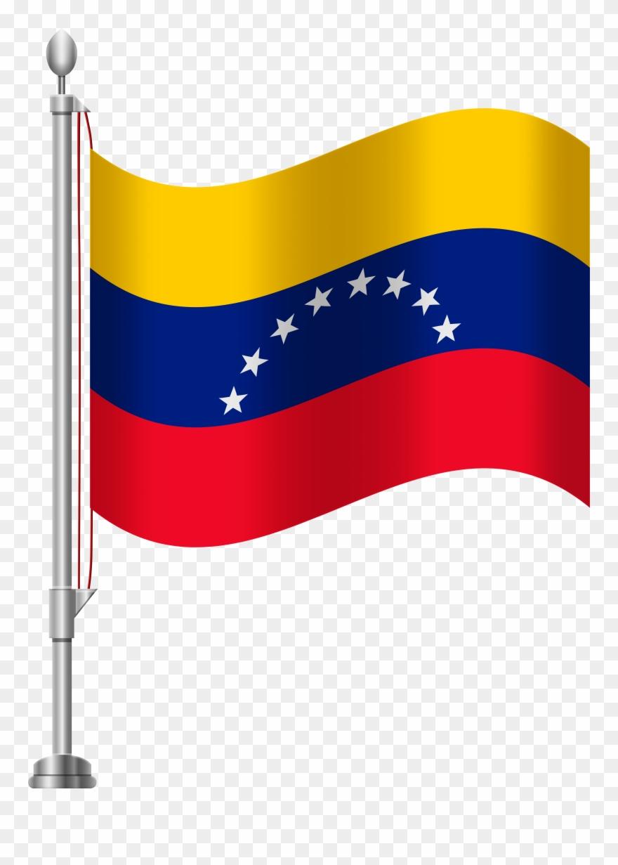 Venezuela Flag Png Clip Art Transparent Png (#1361374.