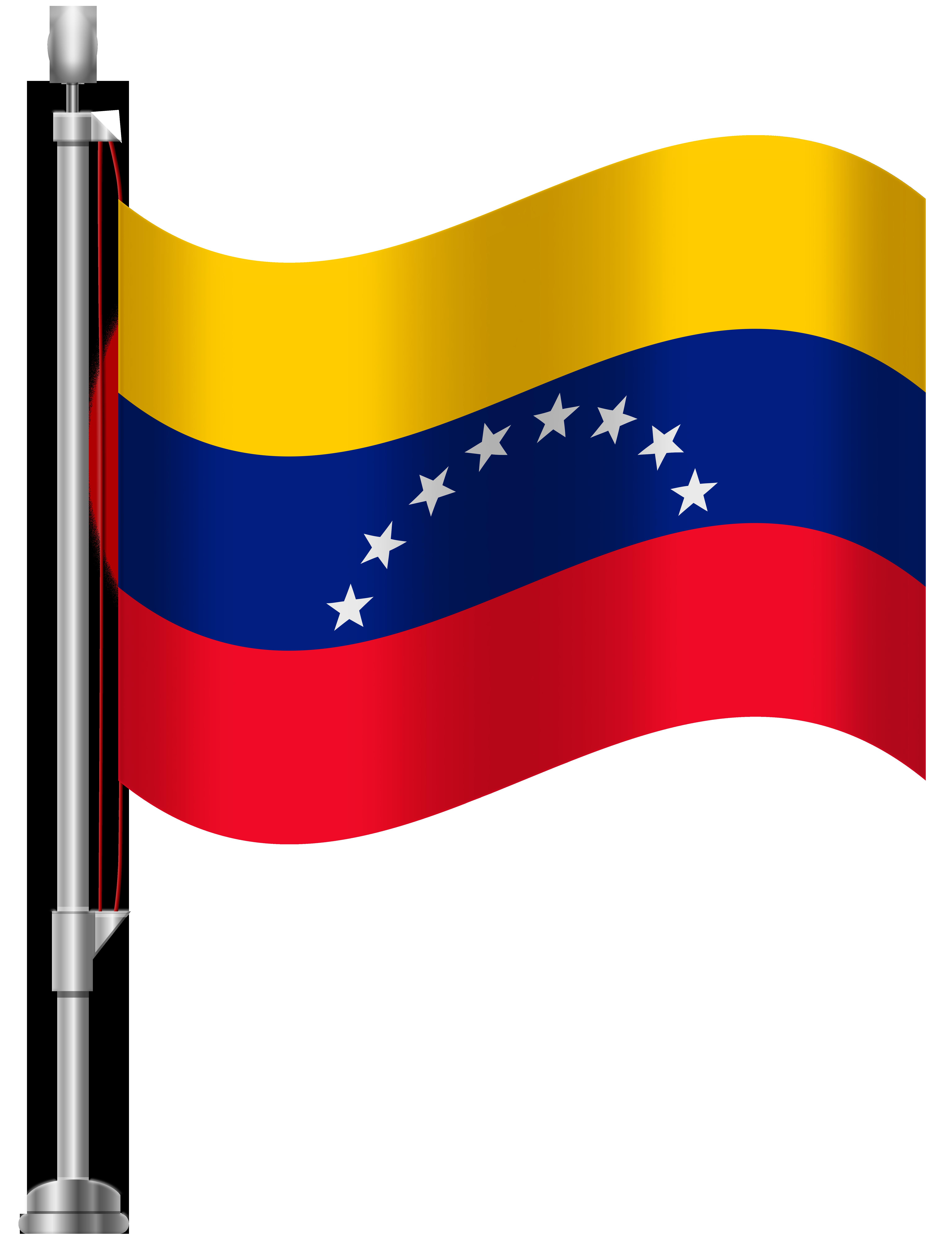 Venezuela Flag PNG Clip Art.