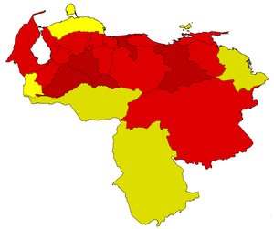 Venezuelan presidential election, 1998.