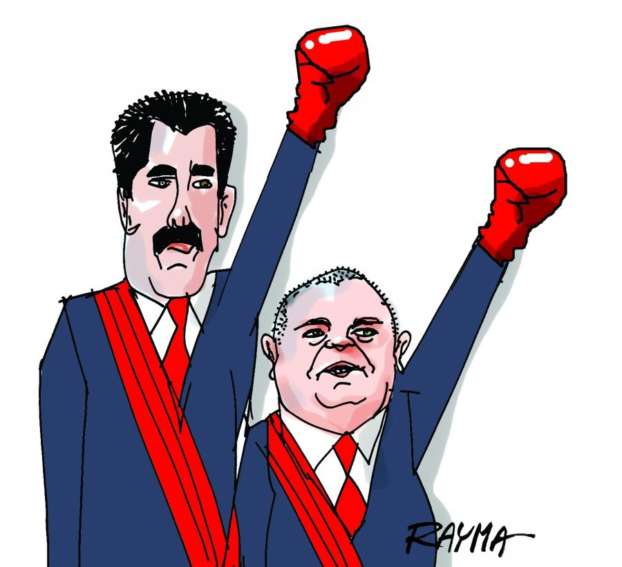 A Venezuelan cartoonist forced into exile still draws the.