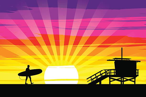 Venice Beach Clip Art, Vector Images & Illustrations.
