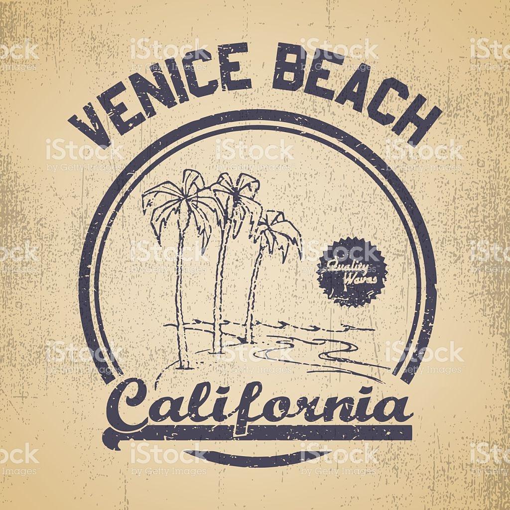 Venice Beach Logo stock vector art 525125855.