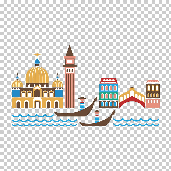 Venice Gondola , construction and boat PNG clipart.