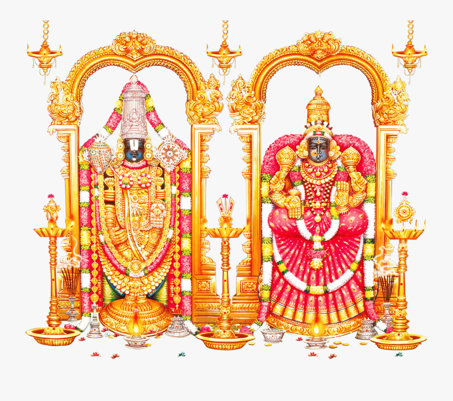 Lord Venkateswara Swamy Png , Free Transparent Clipart.