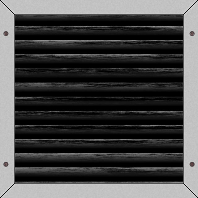 Single Black Vent, Black Vent, Single Vent PNG Transparent.