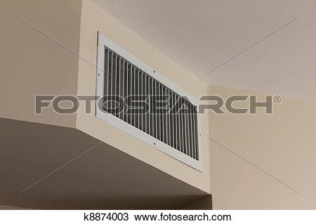 Stock Photo of Air conditioner vent cover k8874003.