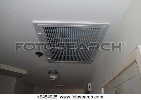 Stock Image of A/C Vent cover k9454925.