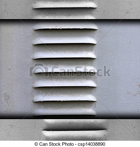 Stock Photographs of ventilation grille texture iron gray.