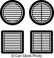 Ventilation Vector Clip Art Royalty Free. 2,113 Ventilation.