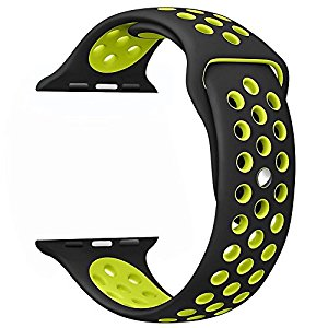 Amazon.com: yearscase 42MM Soft Silicone Bracelet Sport.