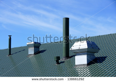 Roof Vents Stock Photos, Royalty.