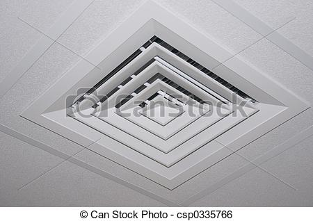 Stock Image of Air outlet.