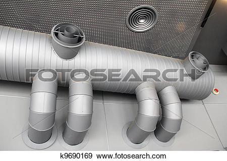 Stock Photograph of Ventilation system k9690169.