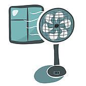 Ventilator Clip Art.