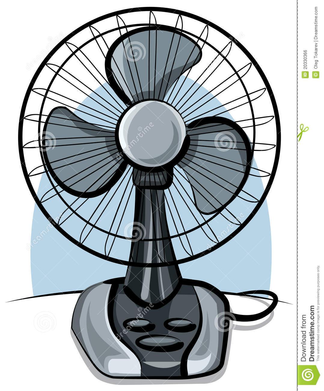 Table Fan Ventilator Royalty Free Stock Image.