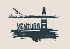 Ventura Stock Illustrations.