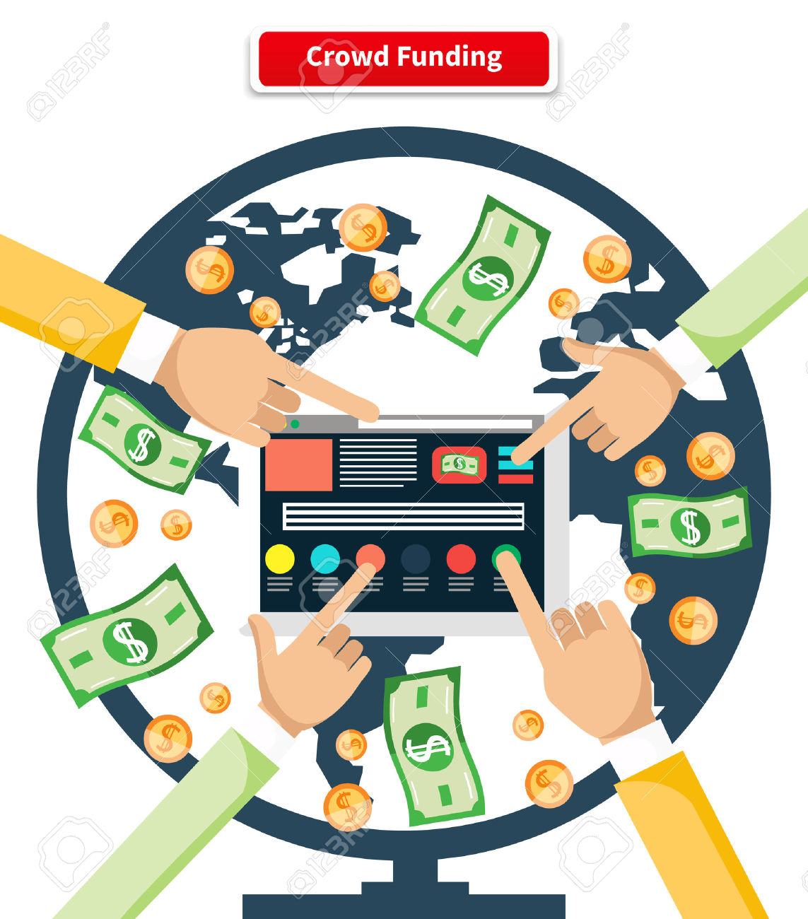 609 Venture Capital Funding Stock Illustrations, Cliparts And.