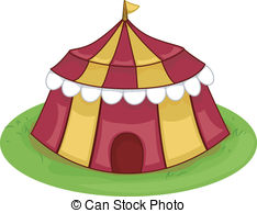Vector Clip Art of Entertainment Venue.
