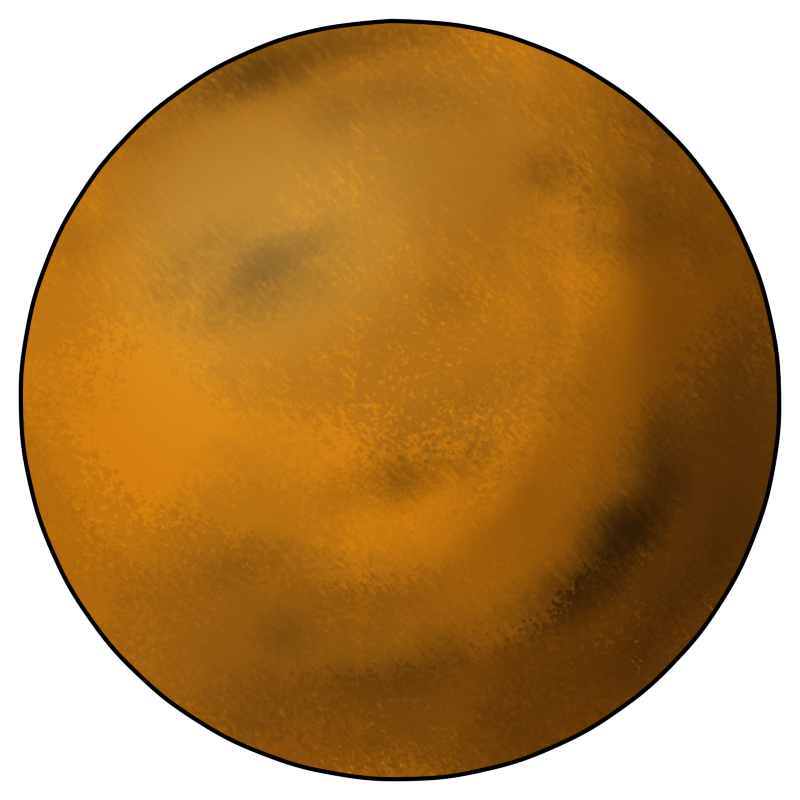 Venus Planet Clipart.