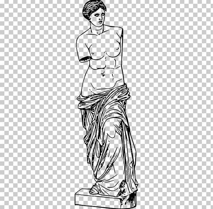 Venus De Milo Milos Drawing PNG, Clipart, Afrodit, Aphrodite.