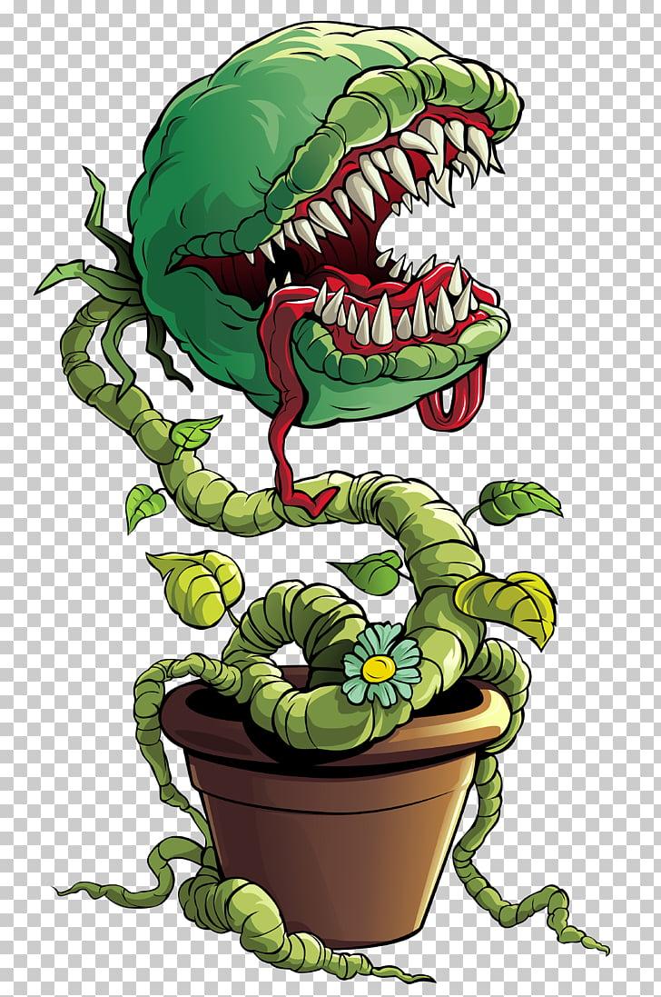 Frankenstein Venus flytrap , Venus Fly Trap Plant Monster.
