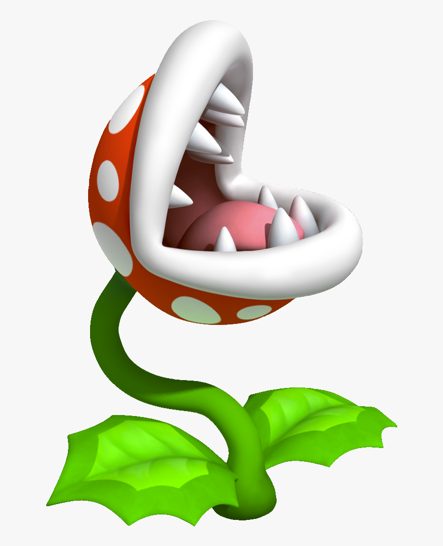 Super Mario Venus Fly Trap Clipart , Png Download.