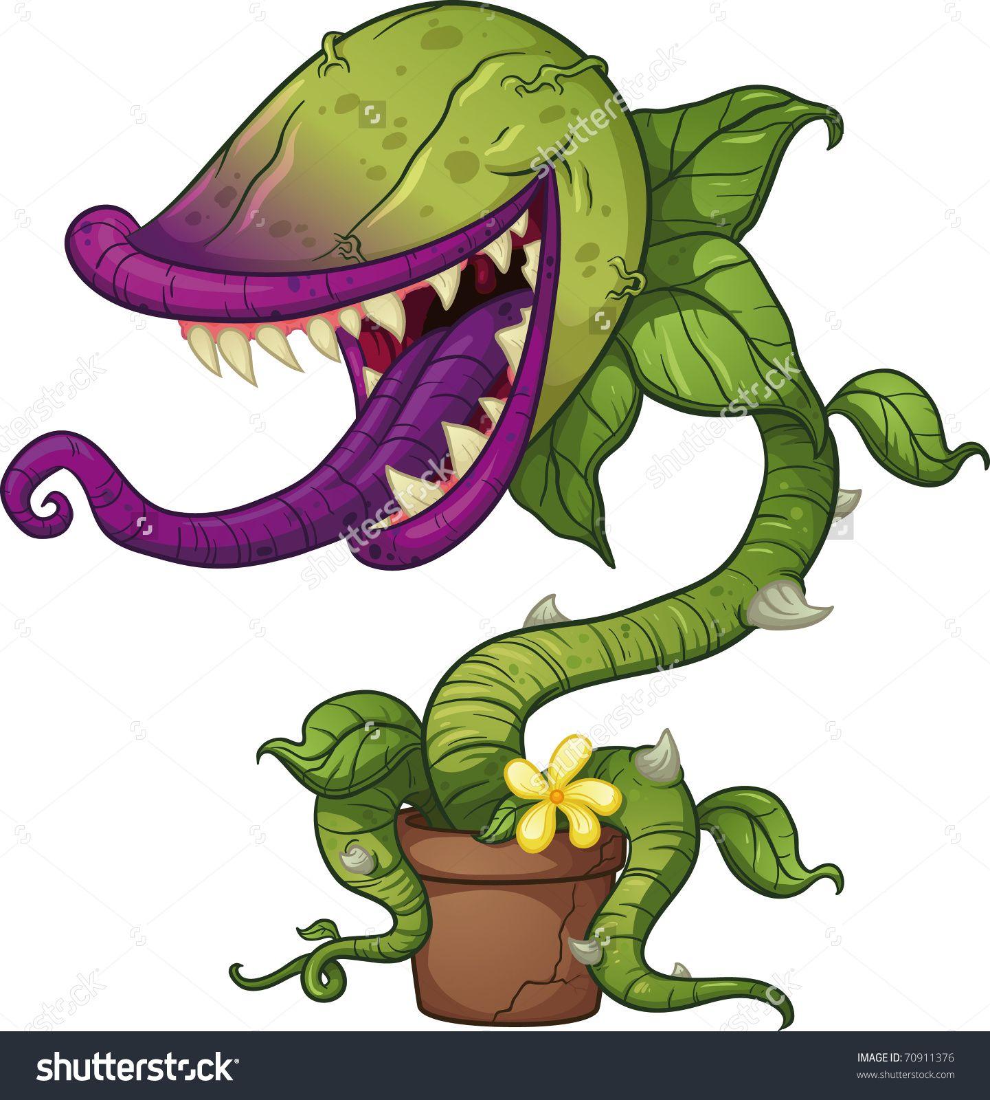venus fly trap monster.