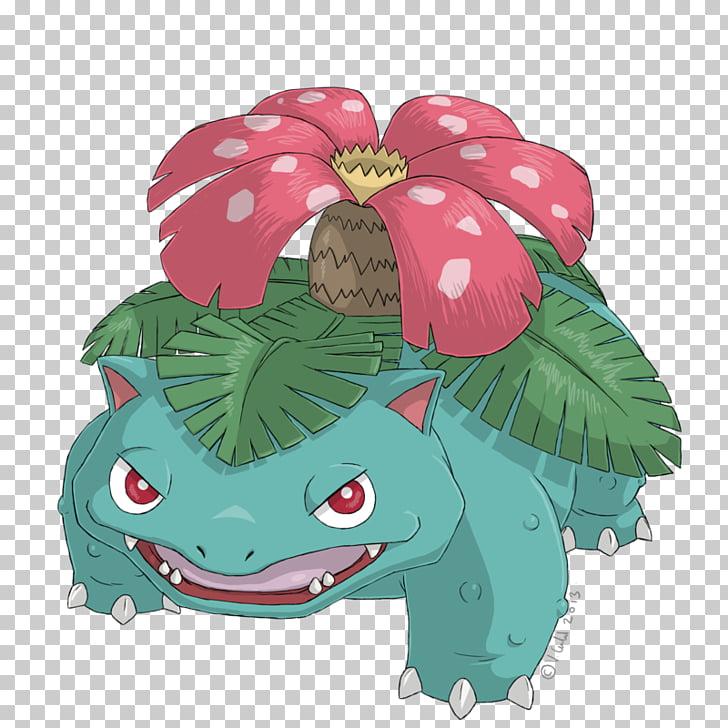 Pokémon Red and Blue Venusaur Ivysaur Bulbasaur, others PNG.