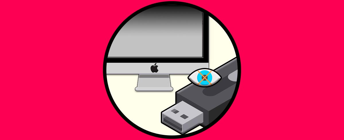 Cómo ver archivos ocultos en USB Mac.