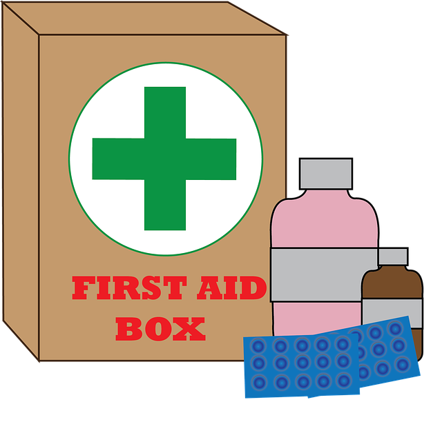 Free photo First Aid Kits Medical First Aid Kit Patch.