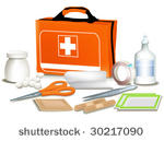 First Aid Kit Graphics.