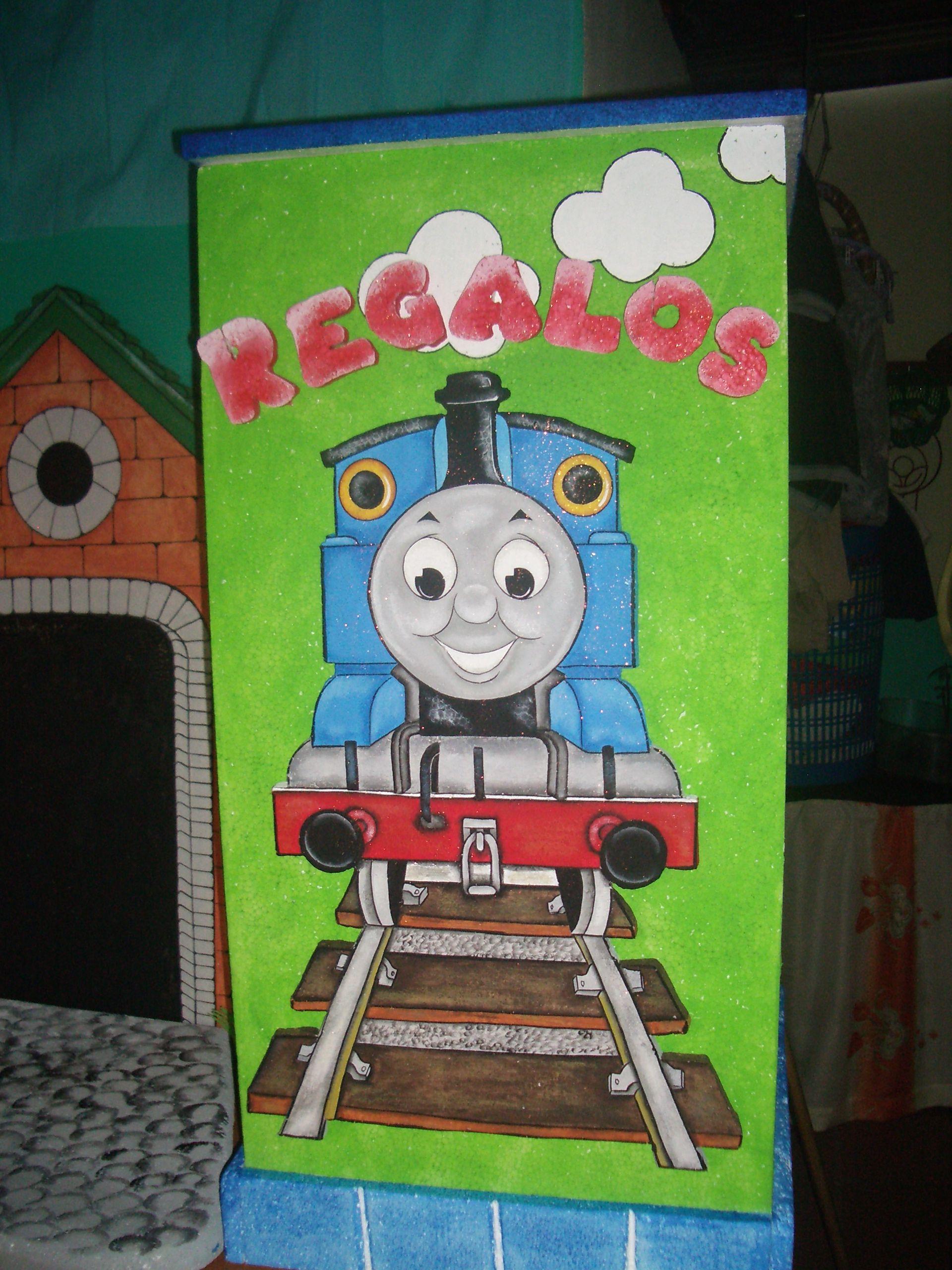 Caja de Regalos de Thomas.