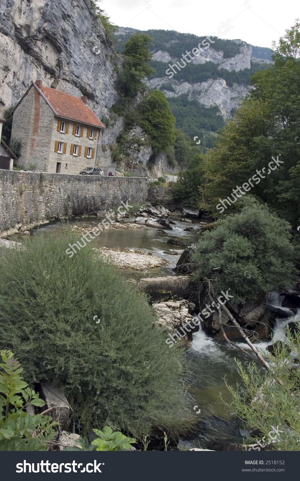 Gorges De La Bourne (Vercors, France) Stock Photo 2518152.
